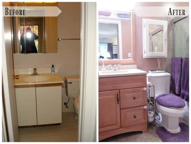 Before and After: Condo Small Bathroom Renovation