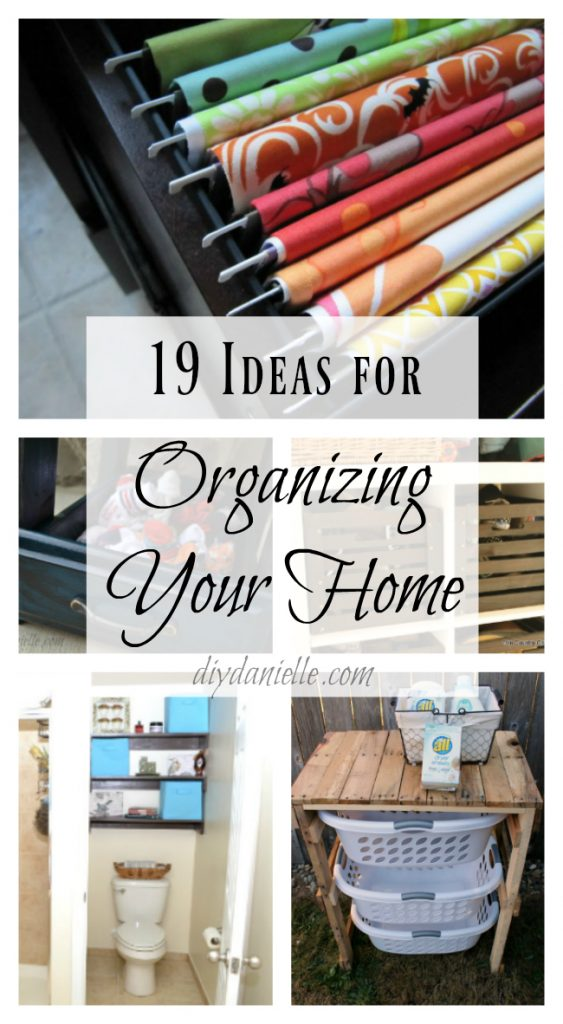 Organize your Home with these Easy Organizing Ideas