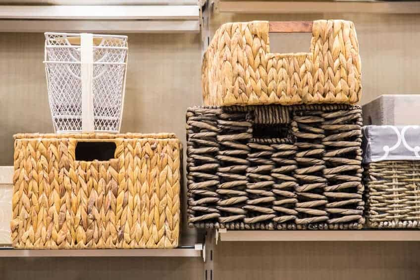 Home organization tips for your New Years Resolution.