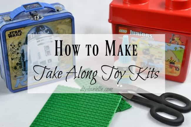 take along lego kit