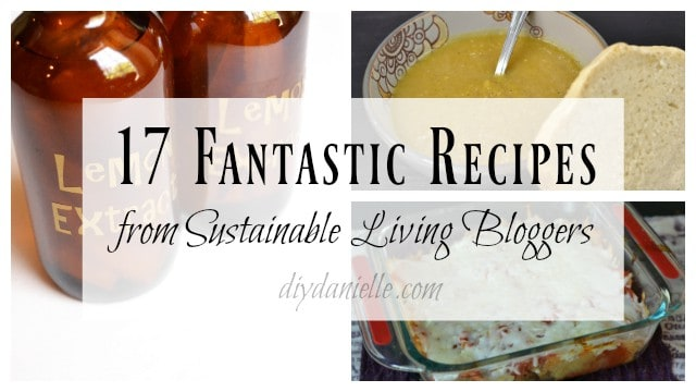fantastic sustainable living recipes