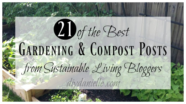 gardening compost sustainable living