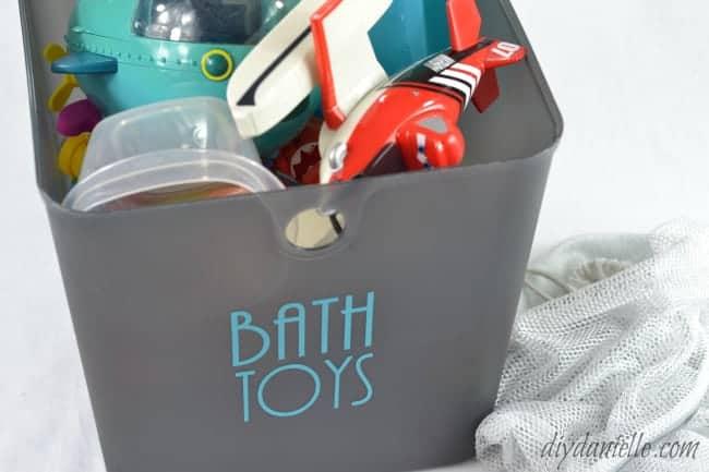 washing machine bath toy cleaning