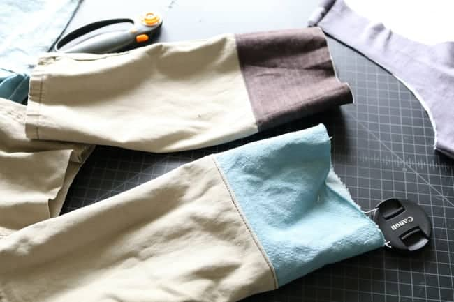 Sew, turn, then topstitch for extra stability and durability.
