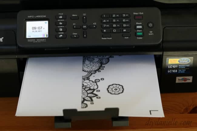 Printing on Printable Vinyl for Cricut