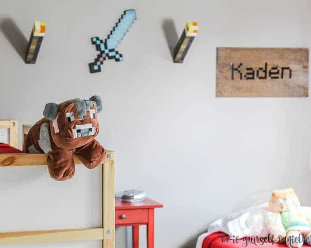 minecraft room wall decor