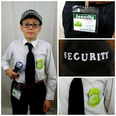 Mall Security Guard Costume Idea
