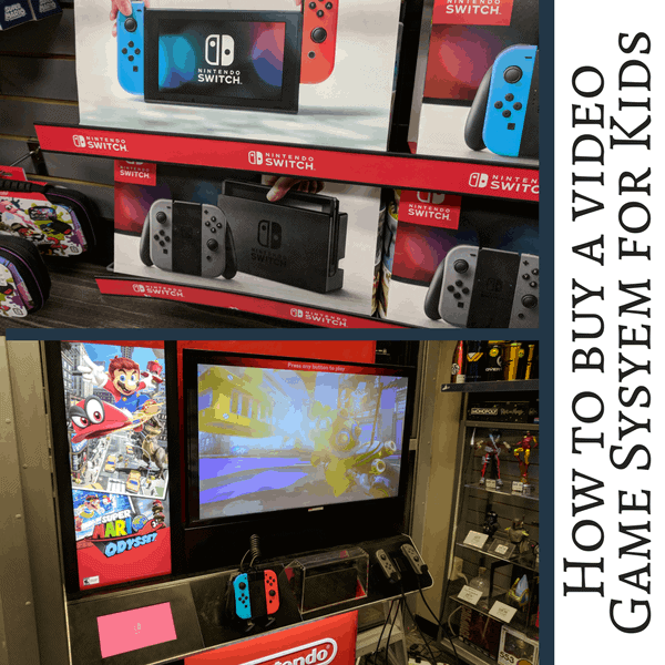 How to buy the best video game system for your kids. Tips for what accessories and games to buy, and how to get a good deal.