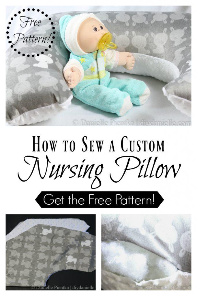 DIY Breastfeeding Pillow