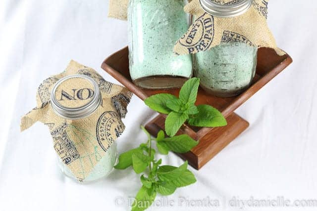 How to Make Orange Mint Bath Salts for Gifts