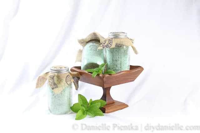 orange mint bath salts