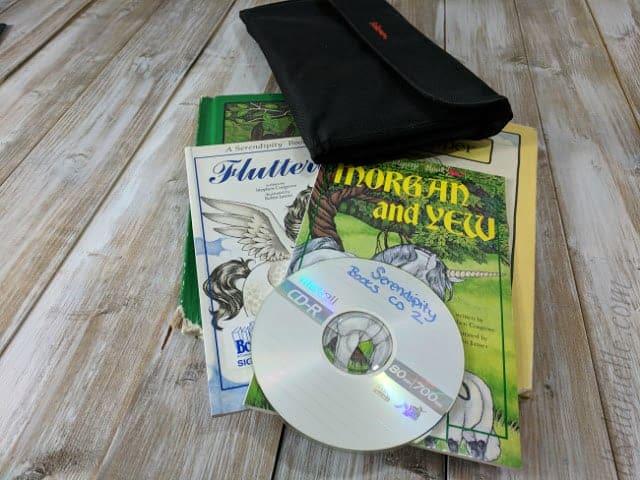 DIY books in CD for kids