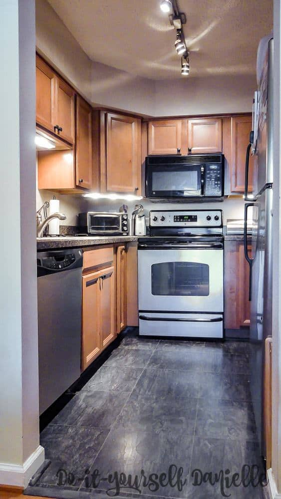The updated condo kitchen made this home easier to sell when it was listed on the market.