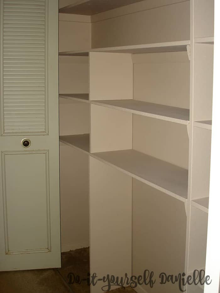 The right shelving can help provide more usable space in a condo.