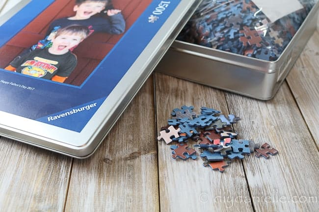 1500 Piece Photo Puzzle from Ravensburger for Father's Day.