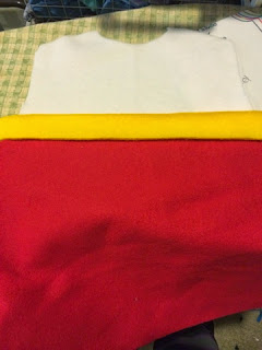How to cut your fabric for your Ryder Paw Patrol vest.