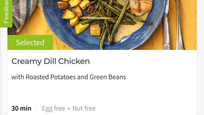 Where to find allergy info for Hello Fresh meal kits.