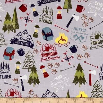 Camping Fabric
