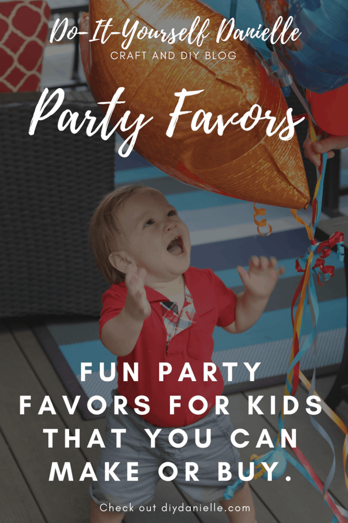 Children's birthday party favors that you can craft or buy. Here's some ideas that WON'T end up in a landfill.