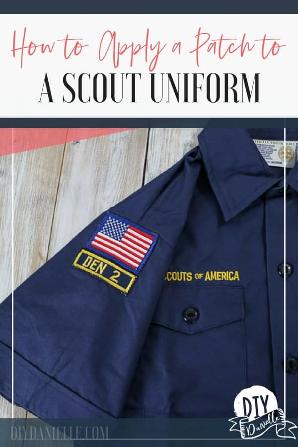 Three ways to apply a patch to a scouting uniform. These Boy Scout patches were easy to put on! Learn how.