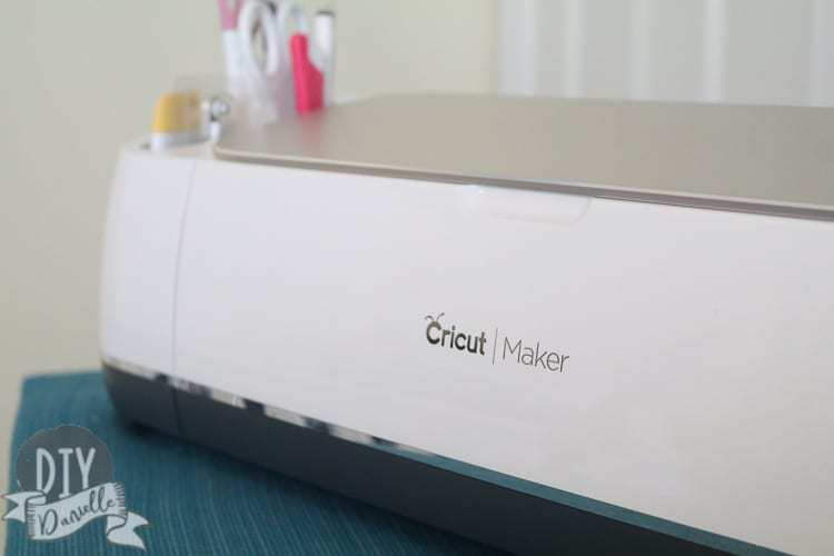 Is the Cricut Maker worth it if you sew? Photo: Cricut Maker with tools.