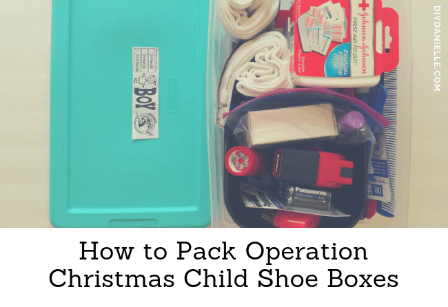Christmas Child Boxes.How To Pack Operation Christmas Child Shoe Boxes Diy Danielle