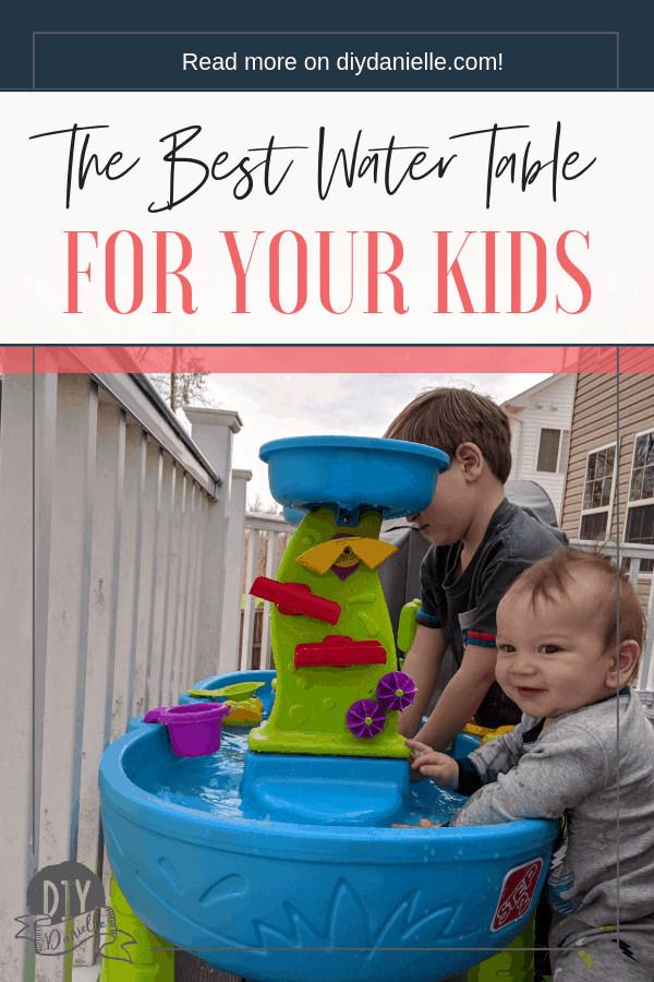 Looking for the best water table for your kids? Here are some fantastic options to buy or DIY.
