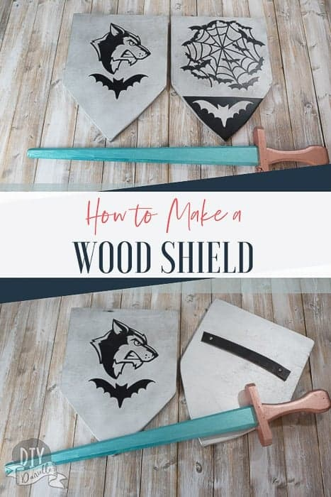 Tutorial for how to make your own wood shields!