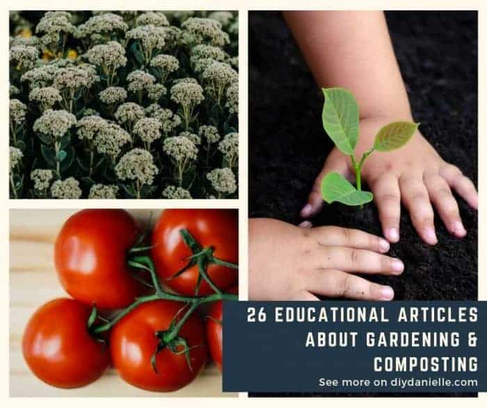 26 posts that can help you learn more about gardening and composting.