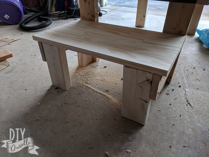 Completed seat for the milking stand.