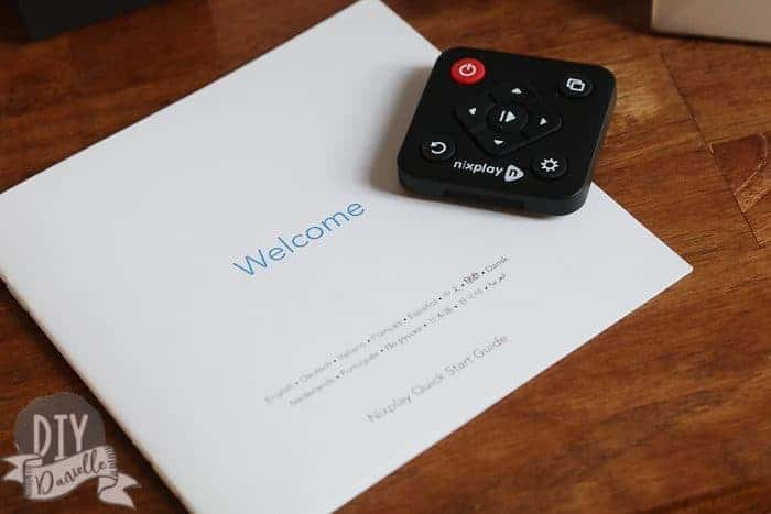 Remote and welcome guide to the Nix Frame