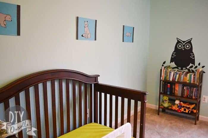 Wall art for nursery.