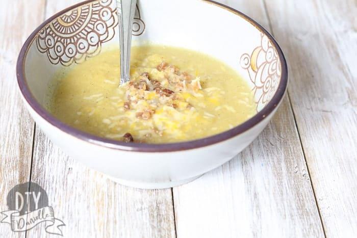 Fresh Pumpkin Crockpot Soup