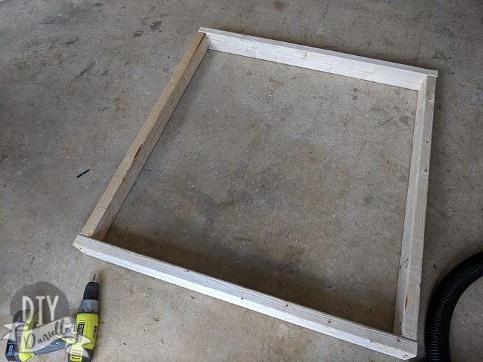 Main frame for the base.