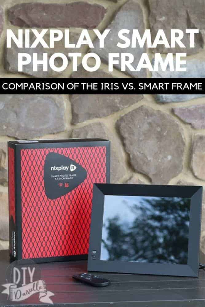 Comparison of Nix Play's Iris vs. their latest frame, the Smart Frame. Check out these digital photo frames which make perfect gifts.