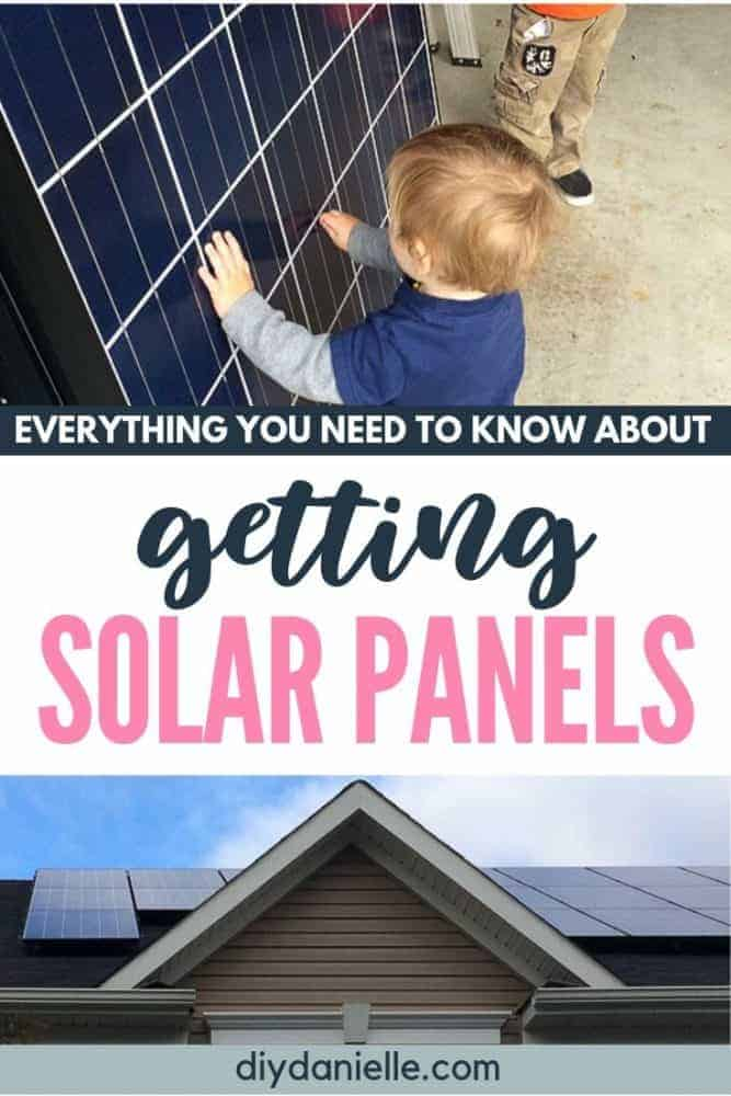 Everything you need to know about getting solar panels installed for your home.