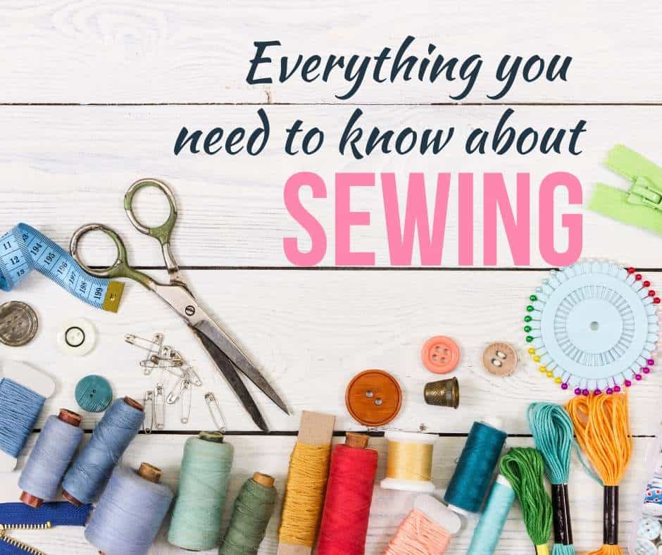 Everything you need to know about sewing: picture of sewing notions