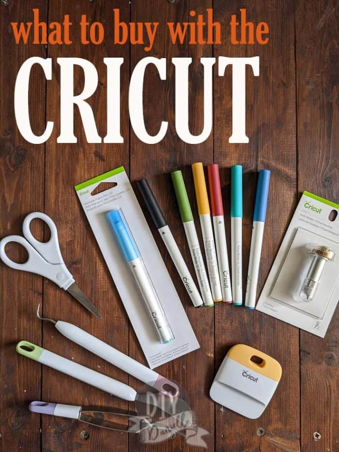 What to buy with the Cricut: A Husband's guide to picking up a Cricut and all of the supplies for his wife!