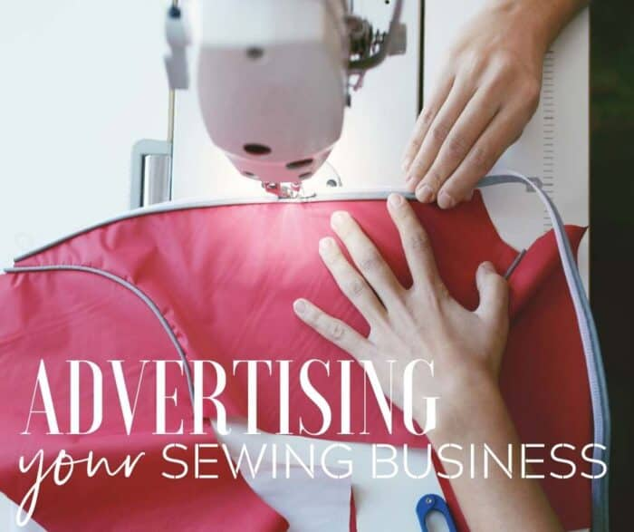 Advertising your sewing business