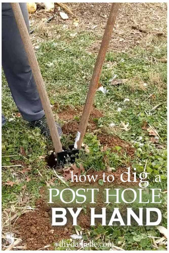 How to dig a post hole by hand: an important task to learn how to do properly if you do a lot of work outdoors for your home.