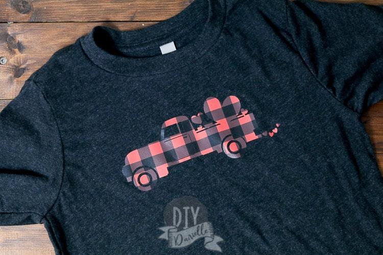 Kids shirt Truck Valentine VD06 Boy Valentines Day Shirt Personalized Custom Valentines Day Shirt Boys Valentine Boy Truck Shirt