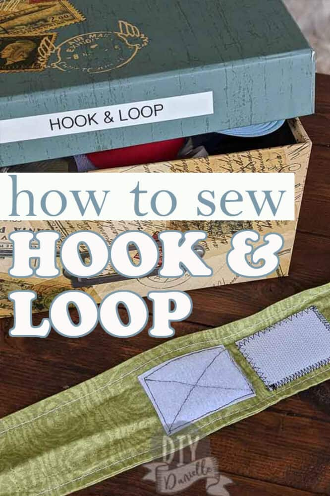 """How to sew Hook and Loop, often called """"Velcro"""" (a brand of hook and loop)"""
