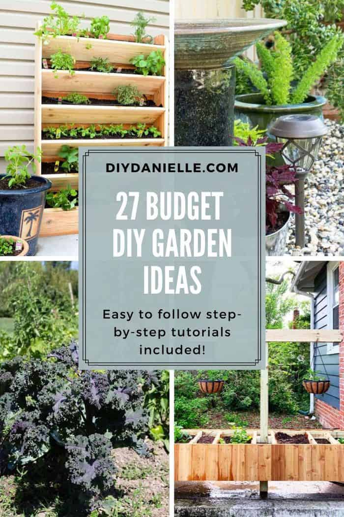 diy garden ideas on a budget