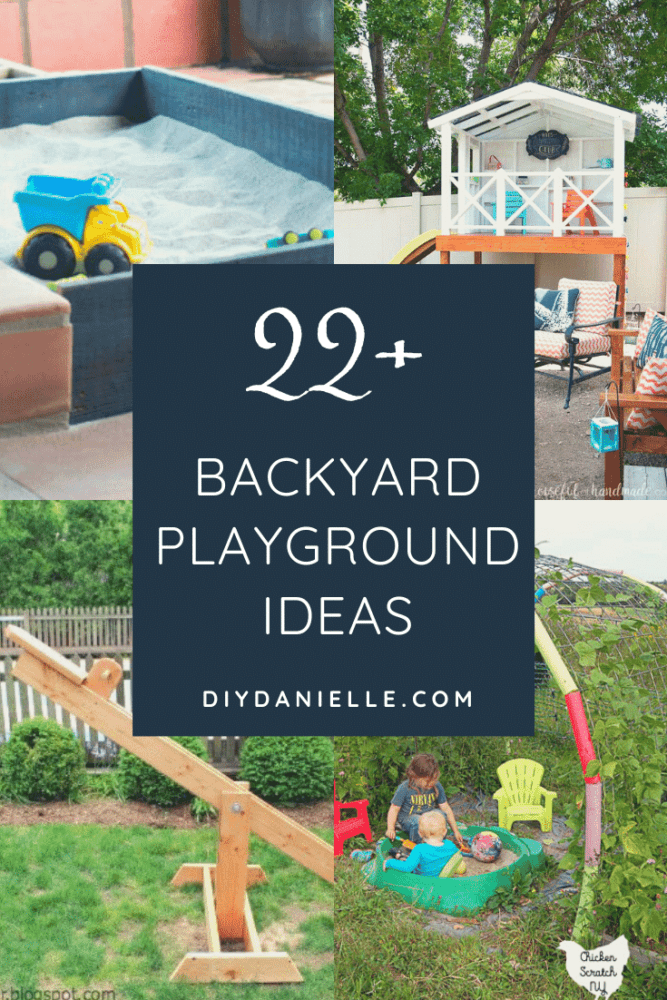 Outdoor playground ideas they'll love this summer. Keep the kids outdoors with an engaging outdoor playroom.
