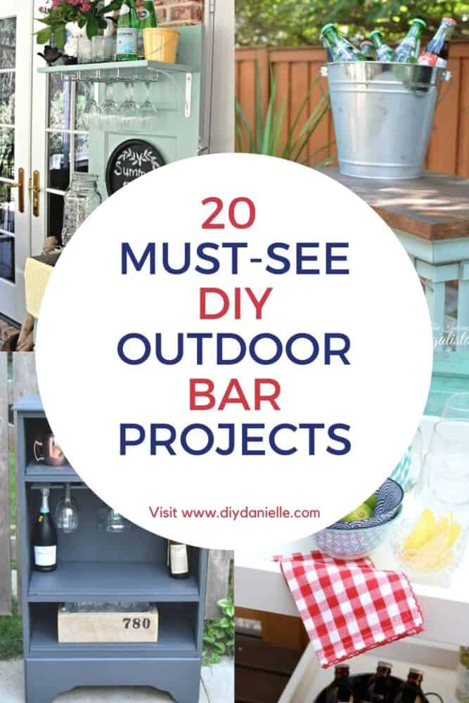 20 must-see DIY outdoor bar projects