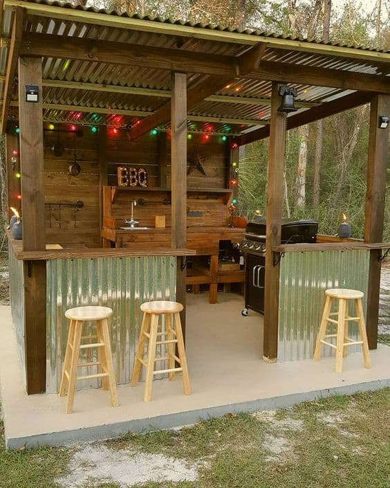 Diy Outdoor Kitchen Ideas You Can Build On A Budget