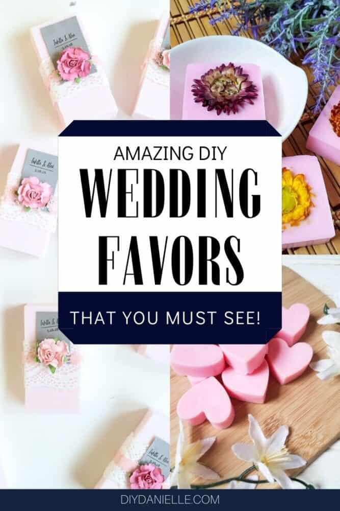 Amazing DIY wedding favors that you can make for your special day.