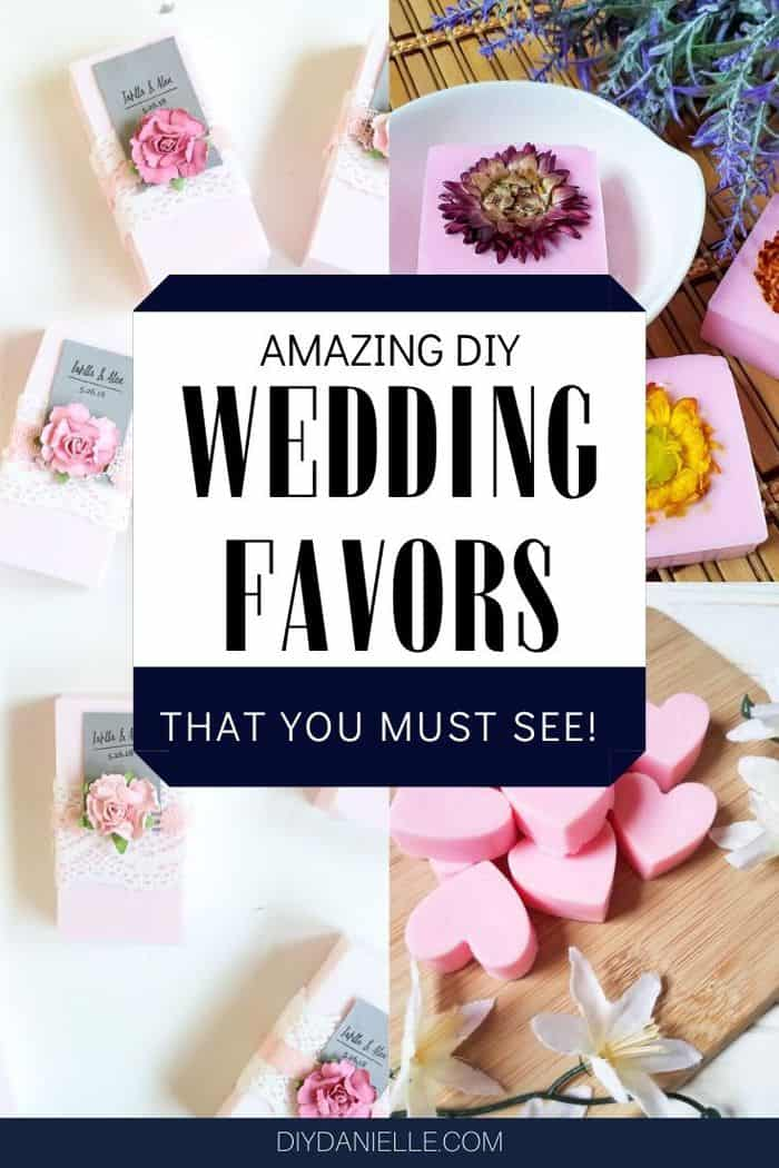 amazing diy wedding favors