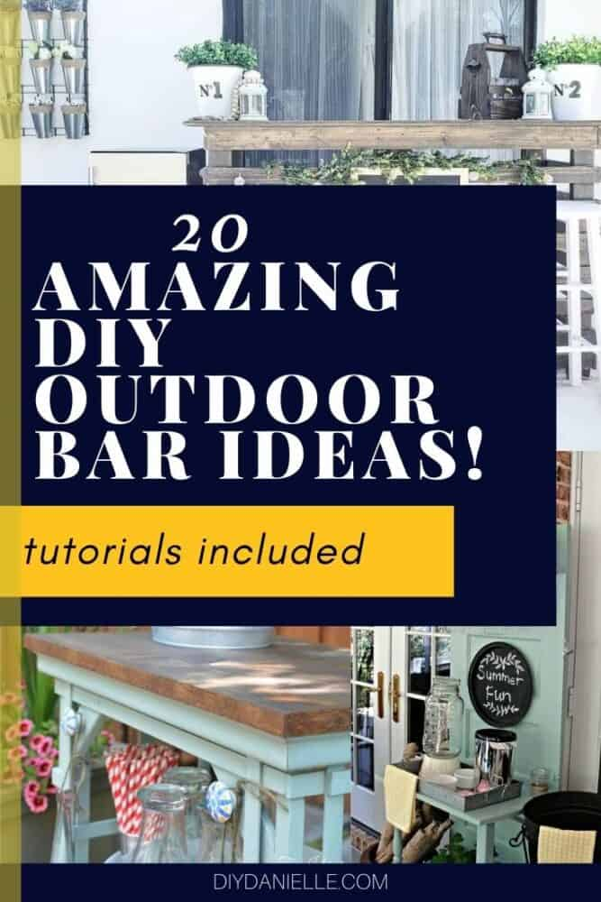 20 amazing outdoor bar ideas