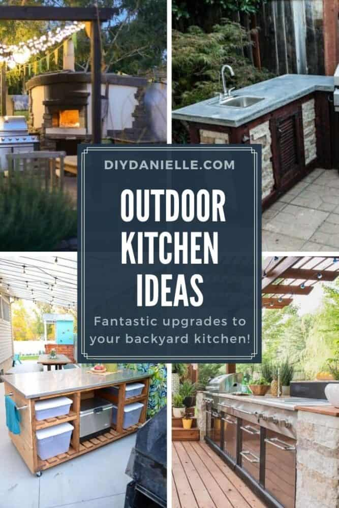Diy Outdoor Kitchen Ideas You Can Build, How To Make An Outdoor Kitchen